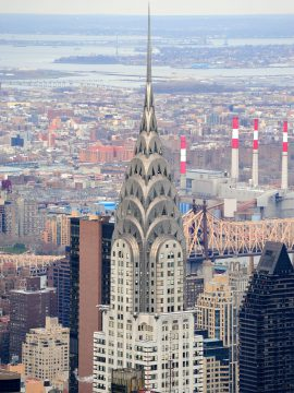 Chrysler Building, New York, symbol of successful startup, entrepreneurship, succession plan, family-owned business.